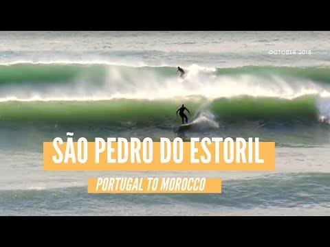 Surfing São Pedro Do Estoril - Where To Surf In Portugal - Longboard Paradise - Portugal Road Trip