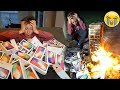 BUYING MY LITTLE BROTHER 100 IPHONES & THEN DESTROYING ALL 100 IPHONES... ($80,000)