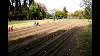 Time Lapse of Garlic planting at Stanton Mountain Farm - Lebanon, NJ