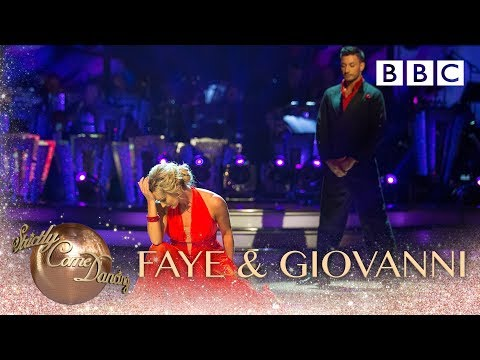 Faye Tozer & Giovanni Pernice Viennese Waltz to 'It's A Man's World' - BBC Strictly 2018