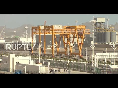 Turkmenistan: World's largest port below sea level opens in Turkmenbashi
