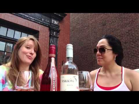 A Boston Food Diary: Decanted - Taking a Look at Rosé Wines!