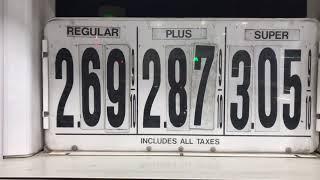 Сколько стоит бензин в Америке в 2018 году.