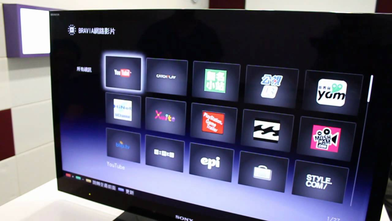 3C大讚賞:Sony Bravia NX720 - YouTube