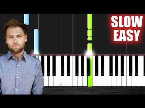 Passenger - Let Her Go - SLOW EASY Piano Tutorial by PlutaX