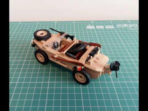 Cobi & Lego Schwimmwagen by Robert Groberski