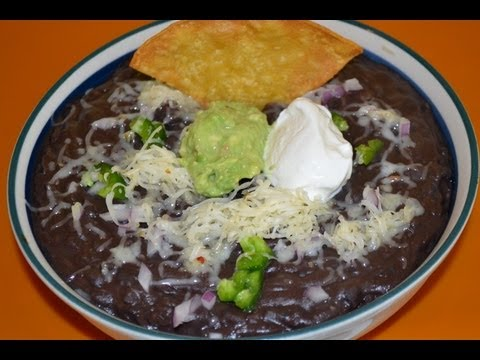 How To Make The MOST DELICIOUS BEAN DIP EVER!