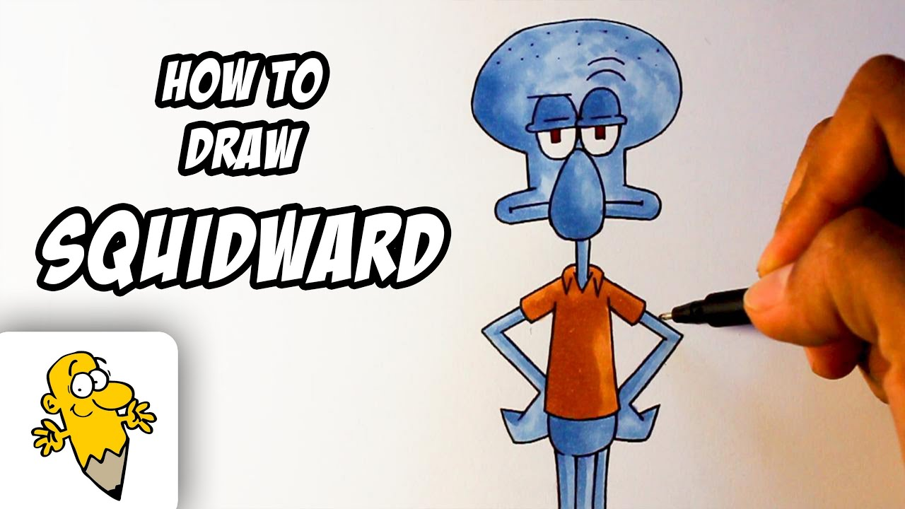 How To Draw Spongebob Squarepants Characters Step By Step how to draw ...