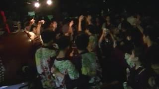 2016年7月17日 聖武天皇社前 オレンジ松一ハッピのおじさん 人形焼ごち...