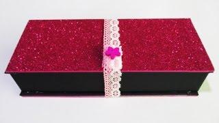 DIY : #126 Glitter Pencil Case - GIFT ♥