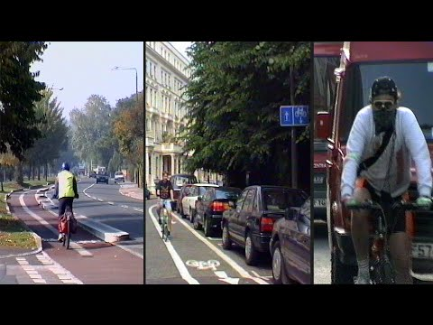 Some 1990s London Cycle Lanes + Air Pollution Solutions