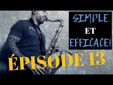 Effet Bluesy Sur Le SAXOPHONE | Phrase Musicale Épisode 13