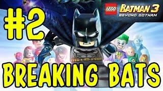 Let's Play LEGO Batman 3: Beyond Gotham (#2) (BREAKING BATS) (KID GAMING)