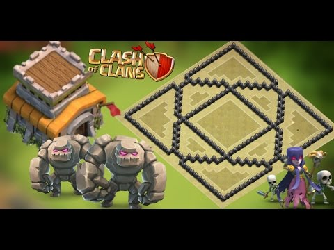 Th8 War Base 2016 Anti Everything-Anti 3 Star Anti Gowipe Anti Dragon Anti Goho