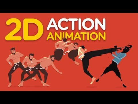 2D Action Animation - Full Process