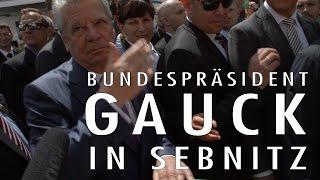 Joachim Gauck in Sebnitz - Jubel & massiver Protest