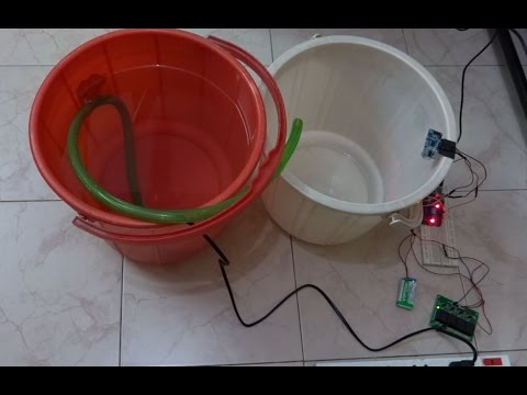Water Level Control Using LINX and Arduino [LabVIEW MakerHub]