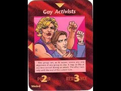Illuminati Card #168 - Gay Activists
