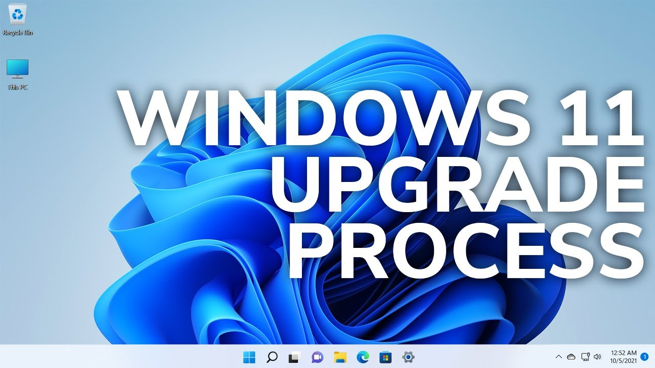 Windows 11 is HERE - Official Upgrade Process from Windows 10