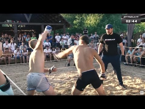 STRIKER vs MMA Fighter !!! Wild Fight !!