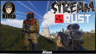 Rust Раст На растслабоне PVE 54 Kima STREAM BANDA 77 18