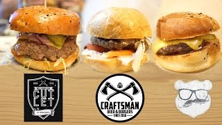 бургер Патруль. Cutlet vs Craftsman vs Bear Burgers. Выпуск с Delivery Review