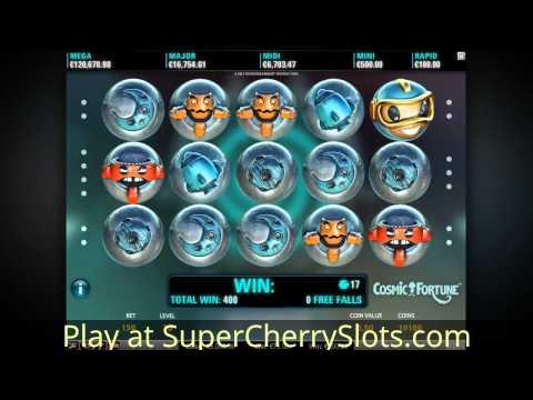 Cosmic Fortune Slot - New netent casino game