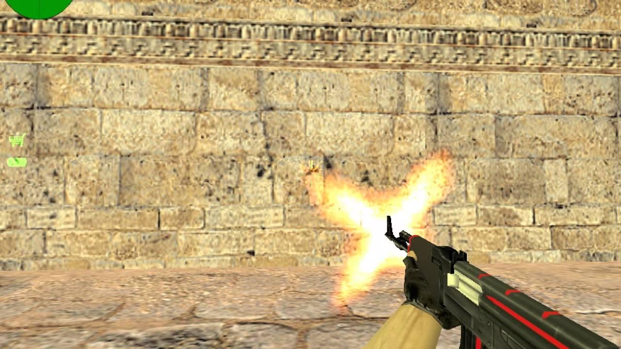 Ak-47 redline for cs 1. 6 | counter-strike 1. 6 skin mods.