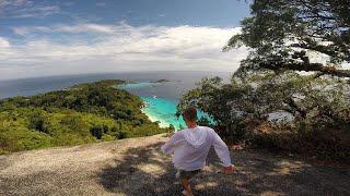 подъем в гору на острове в Тайланде