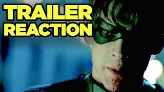 TITANS Trailer Reaction! Robin