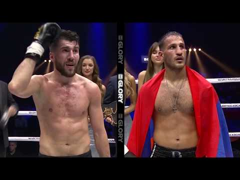 Harut Grigorian makes first successful welterweight title defense  GLORY 54