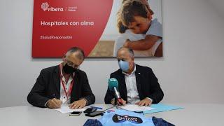 Video Presentación acordo Hospital Ribera POLUSA CB Breogán