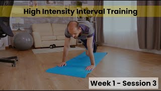 HIIT - Week 1/2 Session 3 (Control)