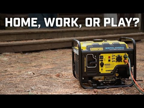 Generator Buying Guide: For home, work or play?