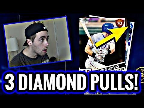 3 DIAMOND LEGENDS PULLED!! POSTSEASON PACKS! MLB THE SHOW 17 DIAMOND DYNASTY
