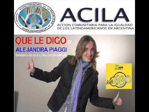 ACILA en Que le digo..? por Radio Rivadavia AM 630
