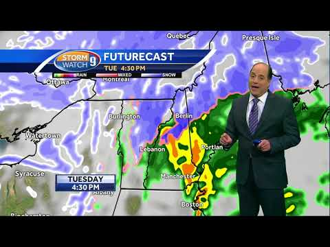 Watch: Snow will change to rain in much of NH