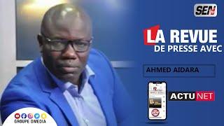 Revue de Presse de 13h avec Ahmed Aidara en Wolof