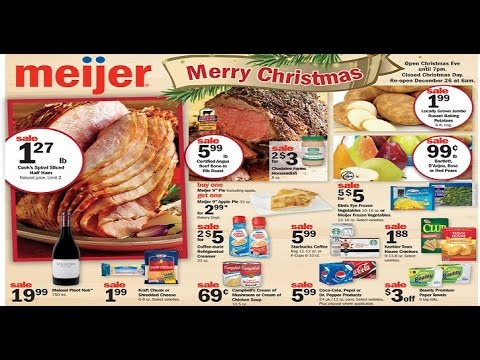 meijer christmas See the new ads 2017 - YouTube