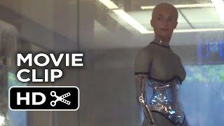 Ex Machina Movie CLIP - Meet Ava (2015) - Alicia Vikander, Domhnall Gleeson Sci-Fi Movie HD