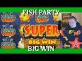 FINALLY THIS GAME PAYS ME!! BIG WIN - FISH PARTY