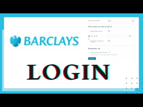 How to Login to Barclays Bank App? Online Banking | Internet Banking | Barclays Online Banking