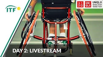 LIVE: Day 2 NEC Wheelchair Tennis Masters 2019 | ITF