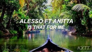 Alesso ft. Anitta - Is That For Me [Traducida al Español]