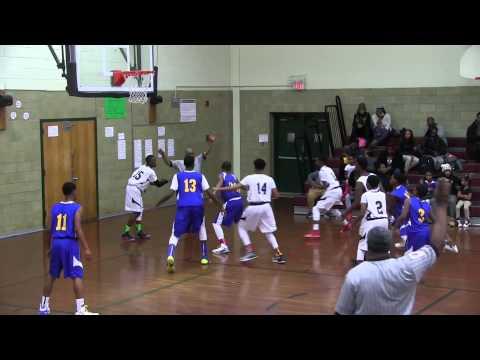 James Madison vs Shugart Middle School 12-17-14