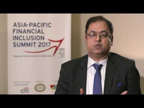 Manoj Sharma - Asia Pacific Financial Inclusion Summit 2017