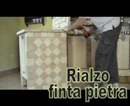 Dress/undress IKEA kitchen by an italian man with big drill - YouTube