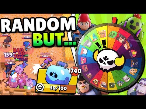 MAX BET RANDOM BRAWLERS IN BIG GAME GONE... A SHELLY TAKEOVER IN BRAWL STARS