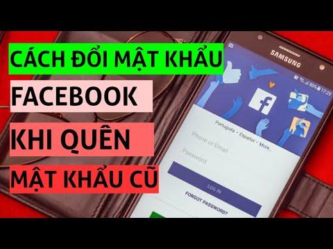 phần mềm hack pass facebook trên điện thoại - Cách đổi mật khẩu facebook khi quên mật khẩu cũ