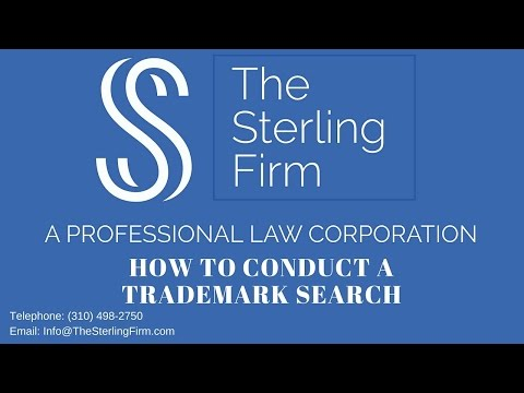HOW TO CONDUCT A TRADEMARK SEARCH